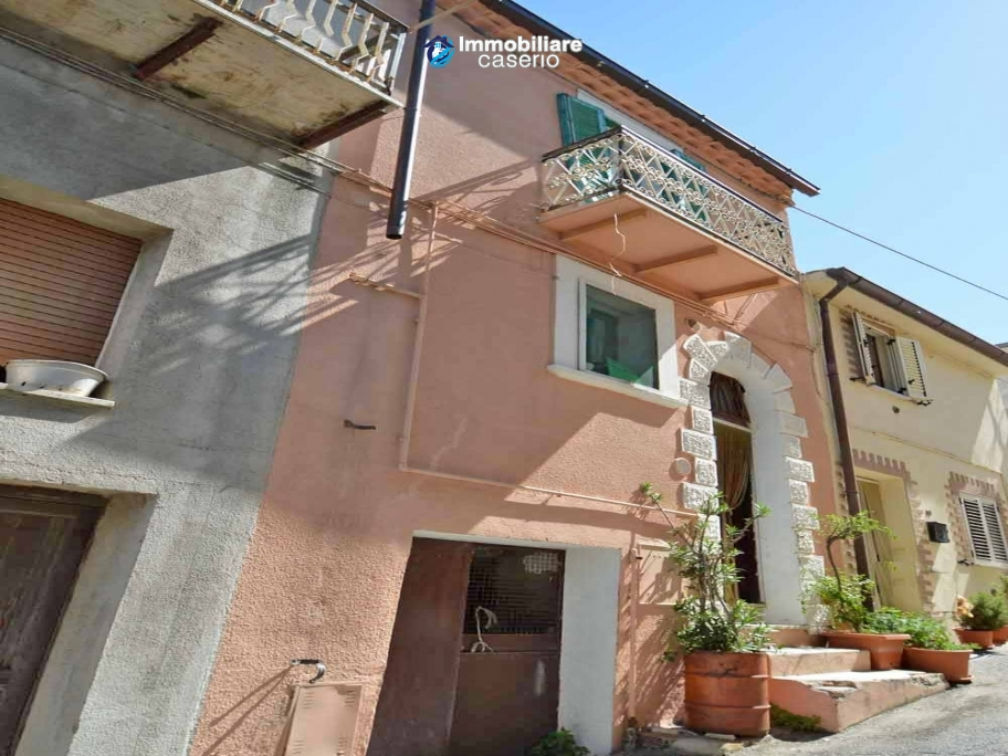 Two independent properties of the old town of Mafalda, Molise