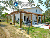 House with sea view, olive trees for sale near Nature Reserve of Punta Aderci. 1