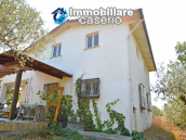 House with sea view, olive trees for sale near Nature Reserve of Punta Aderci. 4