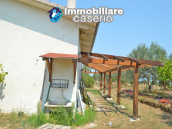 House with sea view, olive trees for sale near Nature Reserve of Punta Aderci. 6