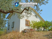 House with sea view, olive trees for sale near Nature Reserve of Punta Aderci. 7