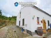 Habitable detatched country house for sale with land in Abruzzo 20