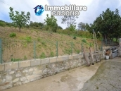 Habitable detatched country house for sale with land in Abruzzo 26