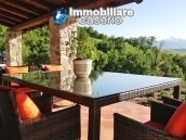 Stone farmhouse with adjoining wooden house used as a spa, for sale Molise, Italy 1
