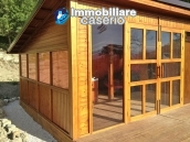 Stone farmhouse with adjoining wooden house used as a spa, for sale Molise, Italy 13