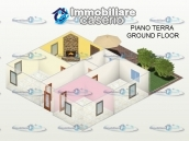 House with a garden divided two apartments for sale Casalbordino, Abruzzo, Italy 49