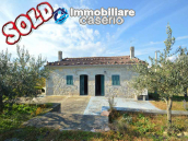 Buy an old house in stone for sale in Molise, Isernia, Bagnoli del Trigno 1