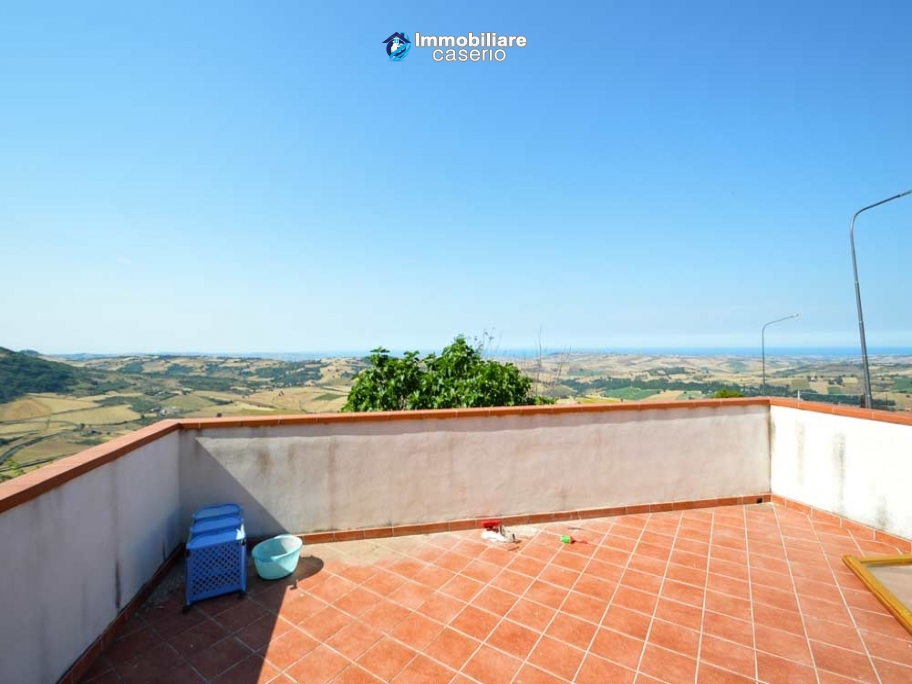 House with sea, bay, mountains view and garden for sale in Italy, Molise