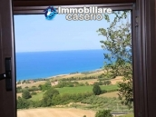 House with visual Tremiti Islands, the hills and the sea for sale in Italy, Molise 1