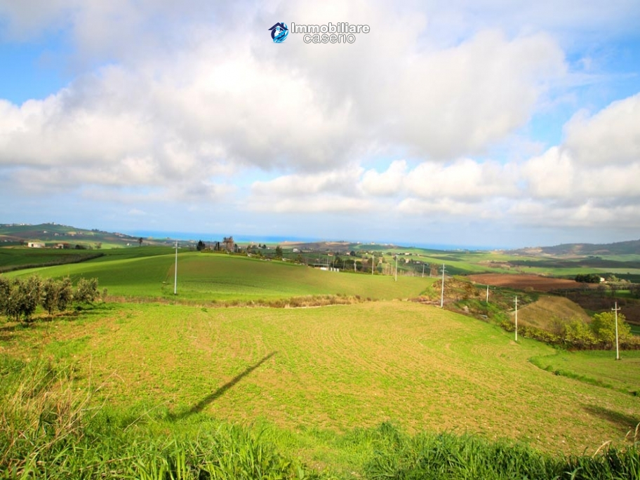 Building land with sea view for sale in Italy, Molise, Montenero di Bisaccia