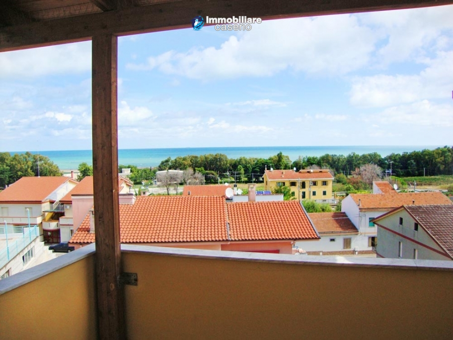 House with sea view for sale in Italy, Molise, Village Petacciato