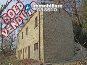 Stone country house with panoramic terrace for sale in Palmoli, Abruzzo, Italy 1
