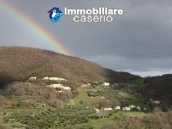 Stone country house with panoramic terrace for sale in Palmoli, Abruzzo, Italy 10
