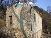 Stone country house with panoramic terrace for sale in Palmoli, Abruzzo, Italy 3