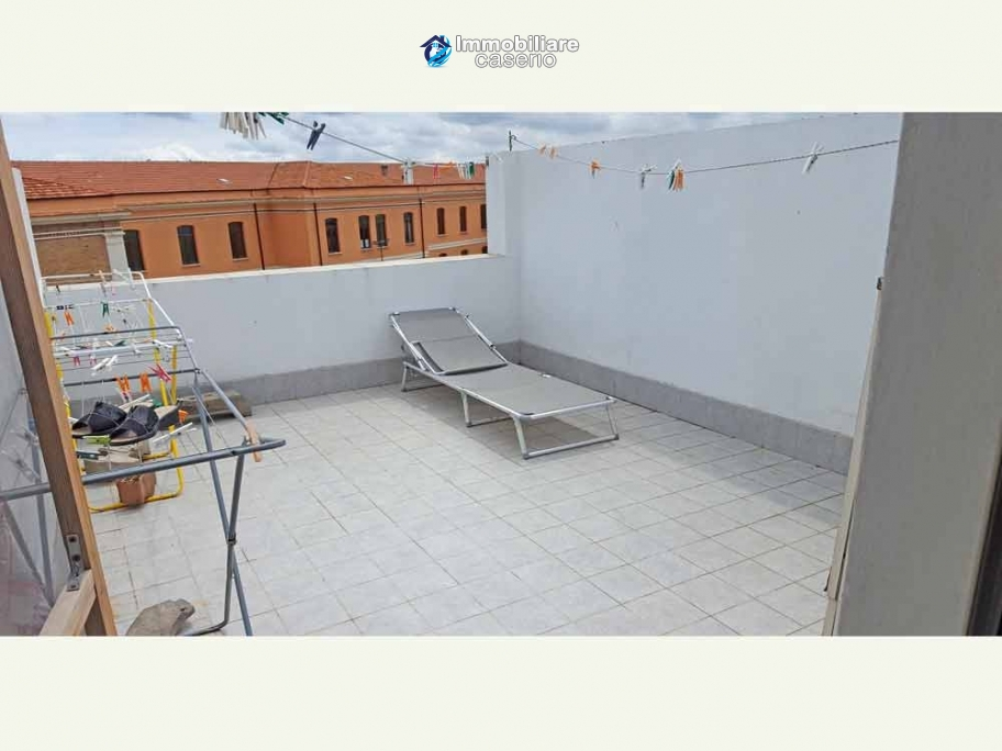 House in excellent condition and  terrace sea view for sale in Italy, Region Molise