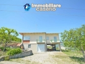Huge house with terrace, garage and land with 21 nuts plants for sale in Abruzzo  1