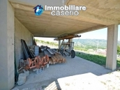 Huge house with terrace, garage and land with 21 nuts plants for sale in Abruzzo  22