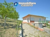 Huge house with terrace, garage and land with 21 nuts plants for sale in Abruzzo  3
