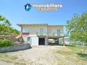 Huge house with terrace, garage and land with 21 nuts plants for sale in Abruzzo  5