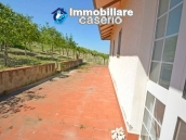 Huge house with terrace, garage and land with 21 nuts plants for sale in Abruzzo  6