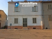 Property in the village habitable with land for sale in Italy, Abruzzo - Village Fraine 1
