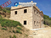 Ancient stone house with 1 hectare of land for sale in Italy, Region Molise 1