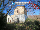 Farmhouse renovated with 5 hectares and terrace for sale in Italy - Village Lupara 1