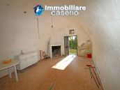 Farmhouse renovated with 5 hectares and terrace for sale in Italy - Village Lupara 5