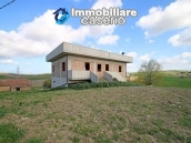 Large detached house with land and terrace for sale in Italy, Molise 1