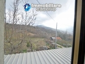 Two buildings with garden and stone henhouse for sale in Italy, Roccaspinalveti 10