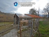 Two buildings with garden and stone henhouse for sale in Italy, Roccaspinalveti 16