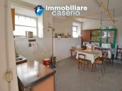 Two buildings with garden and stone henhouse for sale in Italy, Roccaspinalveti 2