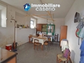 Two buildings with garden and stone henhouse for sale in Italy, Roccaspinalveti 4