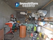 Two buildings with garden and stone henhouse for sale in Italy, Roccaspinalveti 5