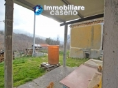 Two buildings with garden and stone henhouse for sale in Italy, Roccaspinalveti 6