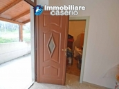 Huge house with a wooden veranda and garage for sale in the Abruzzo region 8