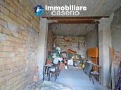 Huge house with a wooden veranda and garage for sale in the Abruzzo region 18