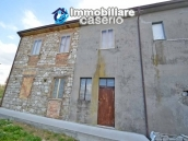 Huge house with a wooden veranda and garage for sale in the Abruzzo region 2