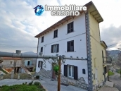 Renovated detached stone house with garden and two garages for sale in Abruzzo 2
