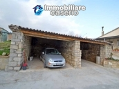 Renovated detached stone house with garden and two garages for sale in Abruzzo 5