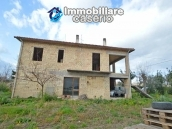 House to complete, with terrace and land for sale a few km from the Adriatic Sea 1
