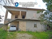 House to complete, with terrace and land for sale a few km from the Adriatic Sea 2