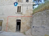 Old semi-detached stone house for sale at low cost in Italy 14