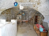 Old semi-detached stone house for sale at low cost in Italy 15
