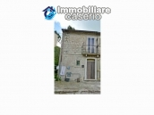 Old semi-detached stone house for sale at low cost in Italy 18