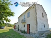 Detached house with land for sale in Casalanguida, in panoramic position, Abruzzo 2