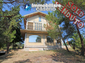 Detached villa with land, located in a quiet area in Abruzzo, Italy 1