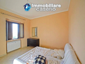 Detached country house with land and wooden veranda for sale in Carunchio 10