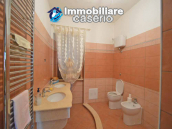 Detached country house with land and wooden veranda for sale in Carunchio 12