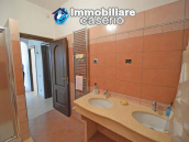 Detached country house with land and wooden veranda for sale in Carunchio 13